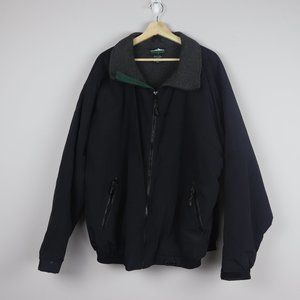 Vintage White Sierra Men's Nylon Coat Jacket XXL
